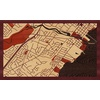 "30""x18"" Woodcut Map of Mississauga"
