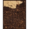 "16""x20"" Woodcut Map of Sunnyvale"