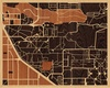 "20""x16"" Woodcut Map of Boulder"