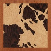 "8""x8"" Woodcut Map of Lillesand"