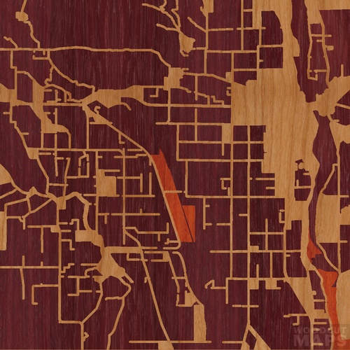 Map Of California Yuba City.Wood Inlay Maps Of Yuba City California Woodcut Maps