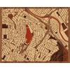 "20""x16"" Woodcut Map of Silverlake"