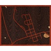"20""x16"" Woodcut Map of Amesville"