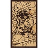 "9""x16"" Woodcut Map of Chapel Hill"