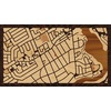 "16""x9"" Woodcut Map of 1556 Apeldoorn Avenue, Ottawa, Ontario"