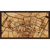 "16""x9"" Woodcut Map of Obernai"