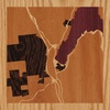 "8""x8"" Woodcut Map of Lake George"