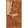 "9""x16"" Woodcut Map of Marseille"