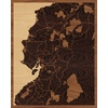 "16""x20"" Woodcut Map of San Miguel"